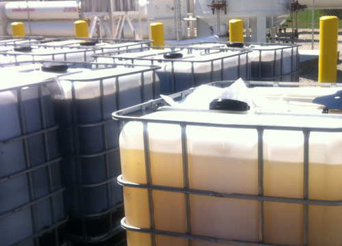expired, surplus silicone oil recycling